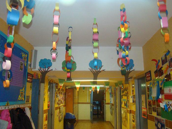 فضاسازی و تزیین مدرسه